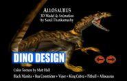 Allosaurus3dmodel