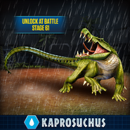Kaprosuchus JW Promo
