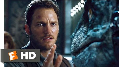 Jurassic World (8 10) Movie CLIP - Raptors vs. Indominus (2015) HD