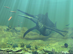 Shonisaurus snapping 1280