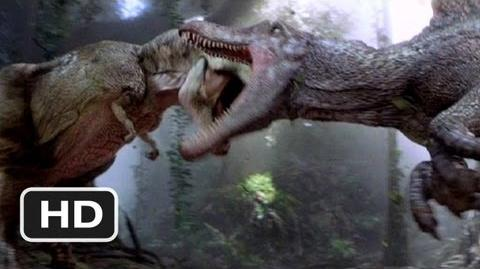 video jurassic park 3 3 10 movie clip spinosaurus vs