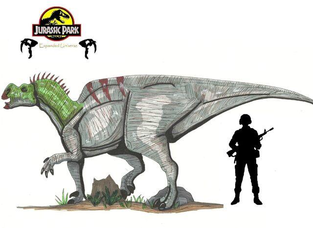 File:Jurassic Park Muttaburrasaurus by hellraptor.jpg
