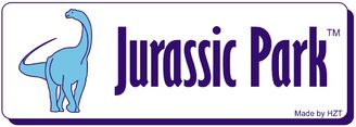 Jurassic park logo novel by Henrique