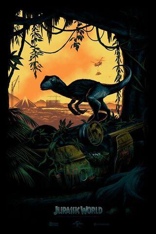 File:JurassicWorldComicConPoster.jpg