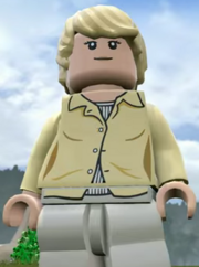 Lego Jurassic World Video Game Amanda Kirby