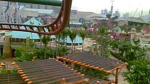 Canopy Flyer at The Lost World (Jurassic Park)
