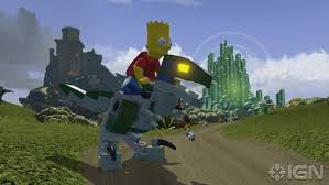 File:Lego Dimensions Bart Simpson riding Blue the Velociraptor from Jurassic World.jpg
