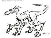Deinonycanis sketch