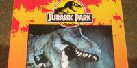 """Jurassic Park """"A Big Color/Activity Book"""""""