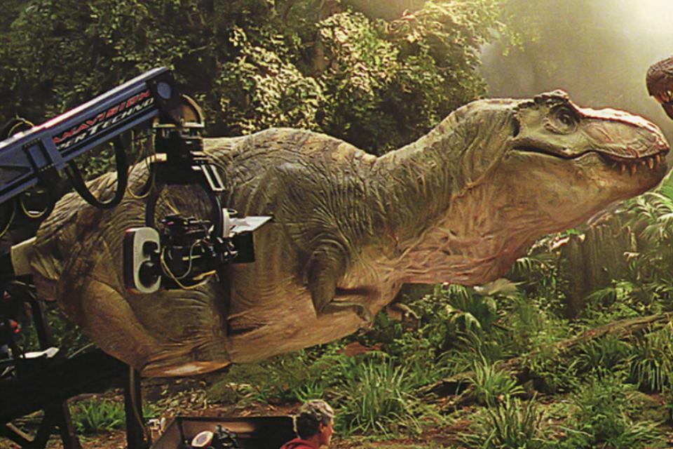 male tyrannosaurus rex animatronics jurassic park wiki