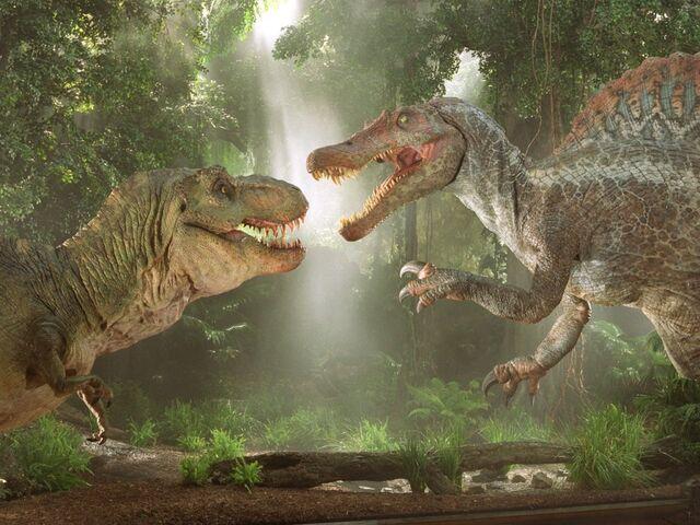 File:Mengde-dinosaurnewscenter3trexvsgiganotosaurusvsspinosaurus474.jpg