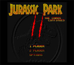 Jurassic Park Part 2 The Chaos Continues SNES ScreenShot1