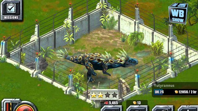 File:Jurassic Park Builder - Yutyrannus.jpg
