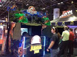 Jurassic World arcade