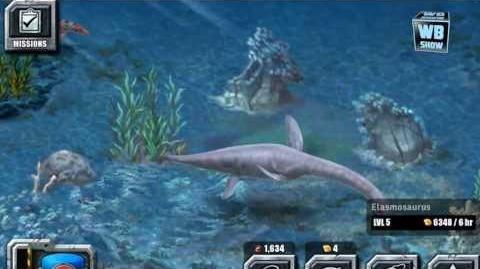 Jurassic Park Builder - Elasmosaurus Aquatic Park Limited