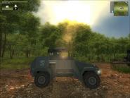 San Esperito Military Harland DTWV-2 Rocket Battery Side