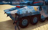 Rebellion Imperator Bavarium Tank Front Close-up