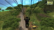 Parachute San Esperito countryside