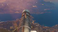 Missile cowboy Rico on missile