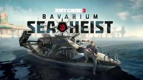 Just Cause 3 Bavarium Sea Heist ESRB