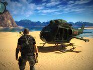 UH-10 Chippewa (unarmed and no rotor)