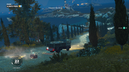 JC3 three missions at once