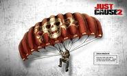 JC2 Chaos parachute