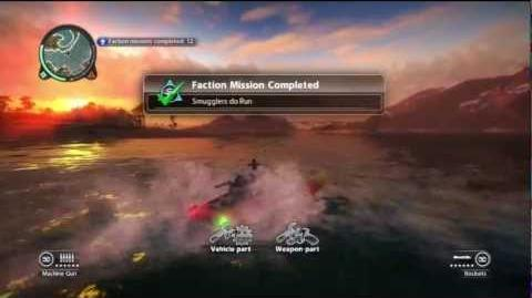 Just Cause 2 - Faction Mission - Smugglers Do Run