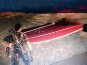 Invisible boat glitch