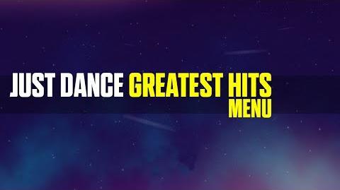Just Dance Greatest Hits Menu (Xbox 360)