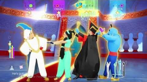 Just Dance 2014 Wii U Gameplay - Disney's Aladdin Prince Ali