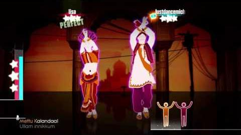 Just Dance 2017 Katti Kalandal 2 Players 5 stars wii u