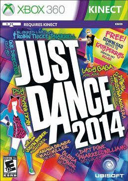Just dance 2014 ntsc cover xbox 360