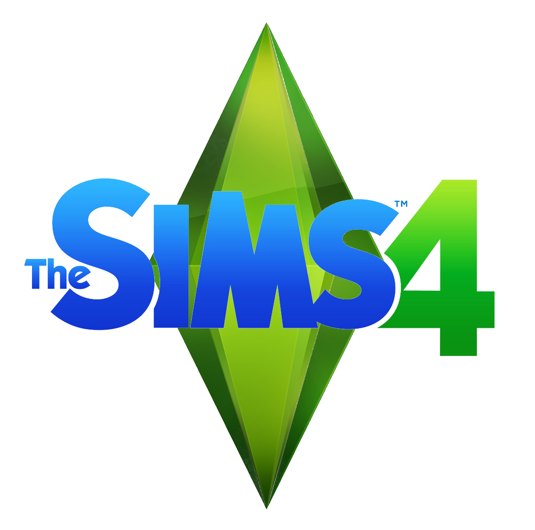 File:Sims 4 Logo on Sims 4 Plumbob Transparent