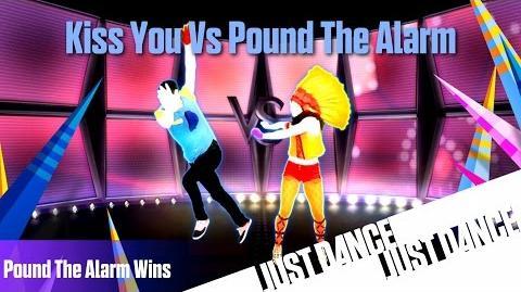 Just Dance 2014 - Kiss You Vs Pound The Alarm (Wins) Battle