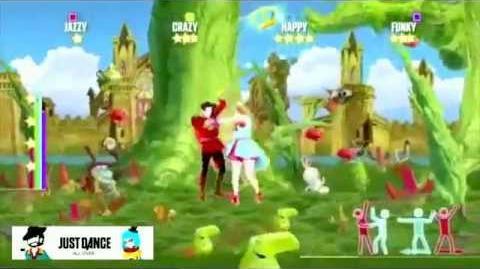 (Short Gameplay Slow) Va Va Voom From Just Dance All Over