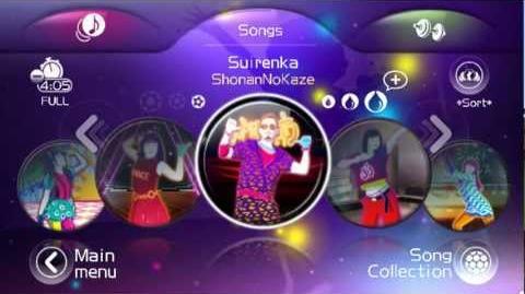 (ジャストダンス2) JUST DANCE WII 2 JAPAN SONG LIST