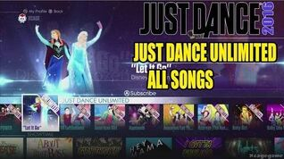 Just Dance 2016 - All Songs Just Dance Unlimited Full Songlist - Full Game HD