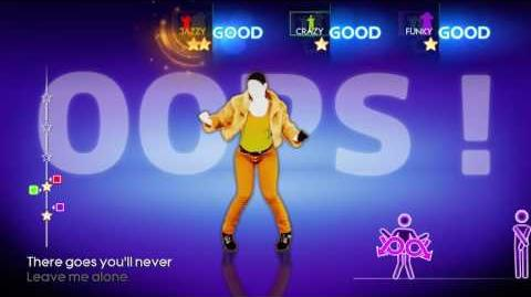 Just Dance 4 Hit Em Up Style (Oops) 3 players 4 stars xbox 360