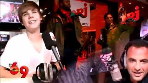 """Justin Bieber chante """"Frère Jacques"""" sur NRJ"""