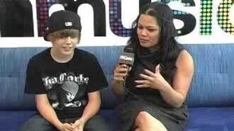 Justin Bieber LIVE at MySpace Music 06 09 09 02 33PM