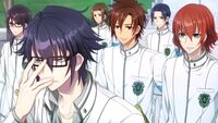 Gakuen K Illustration, Fushimi Route Normal Ending