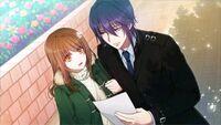 Gakuen K Illustration, Munakata Good Ending 02
