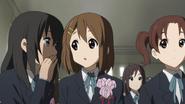 Kimiko, Yui and Chika graduating