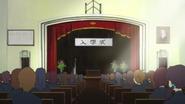 Sakura High auditorium from inside 2