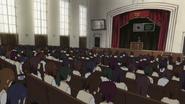 Sakura High auditorium from inside