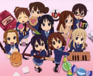 K-ON Chibi characters