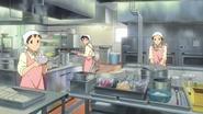 Sakura High kitchen