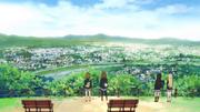 Look over Kyoto
