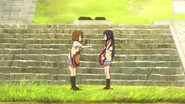 Yui's dissapointed by Azusa